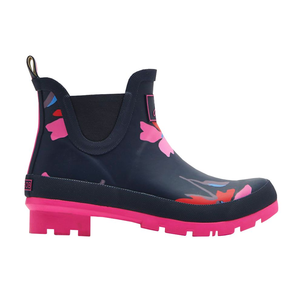 Joules Wellibobs Short Printed Rain Boots