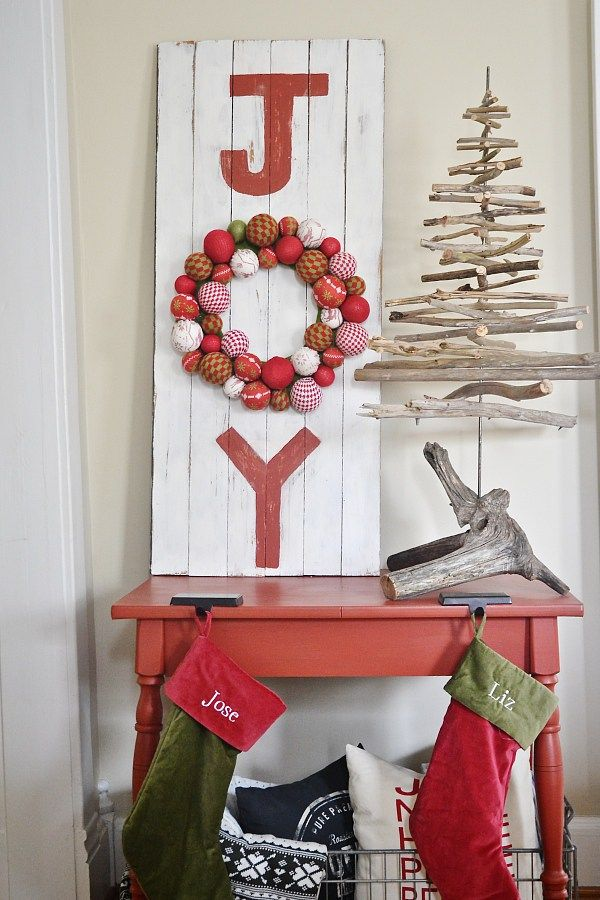 Diy Joy Christmas Sign Craft