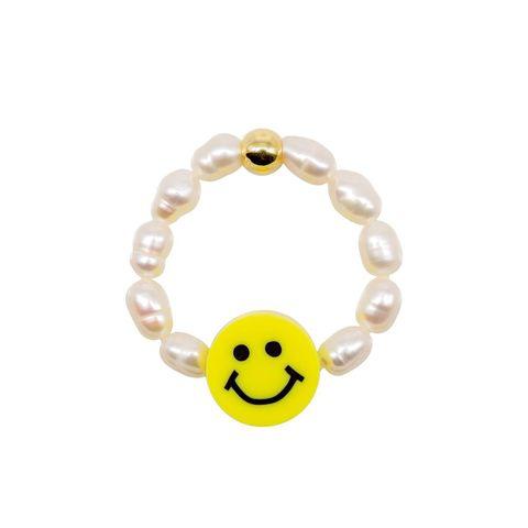 joyas de abalorios de smiley