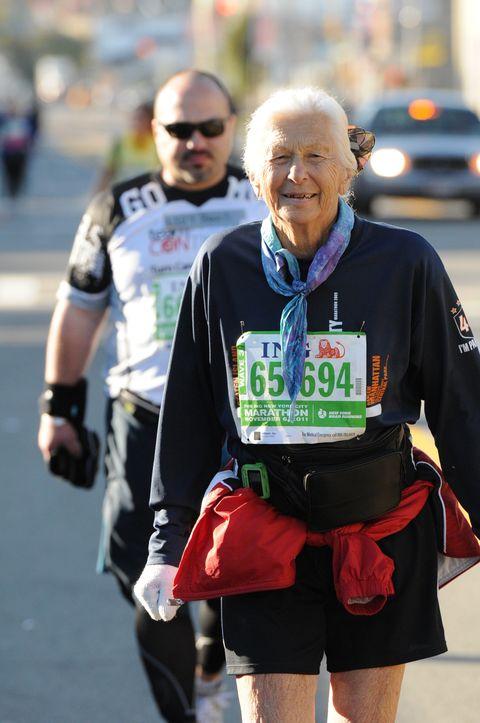 New York City Marathon's Oldest Female Finisher Dies