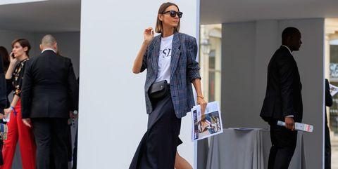 Street Style Oversize Blazer Fall 2017