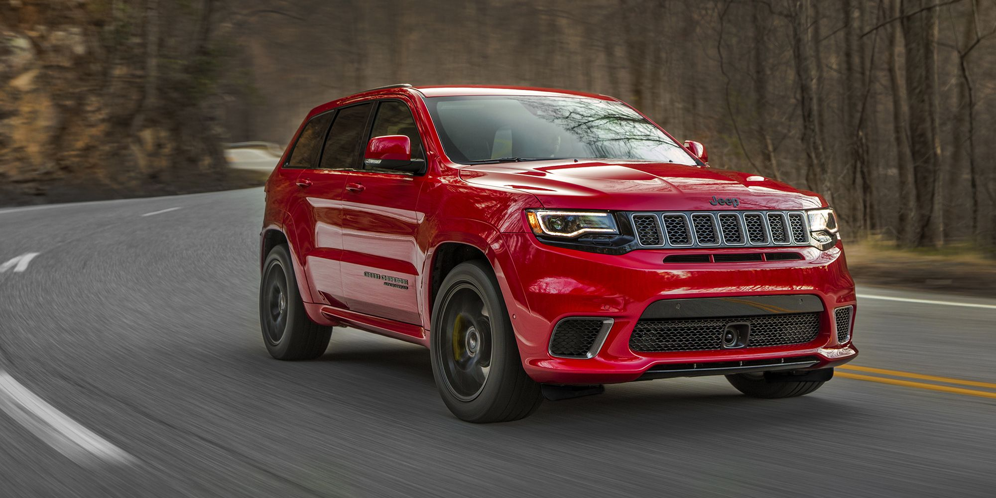 suv carsguide cherokee revealed york ahead jeep new red trackhawk grand of reviews