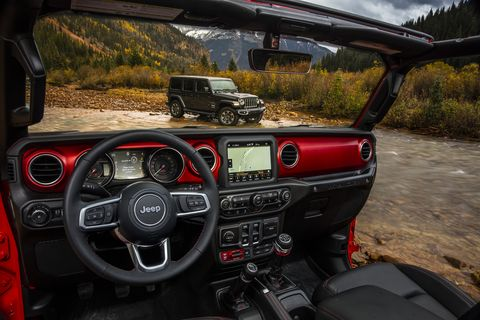 Jeep On November 8th Released Pictures Of The 2018 Wrangler S