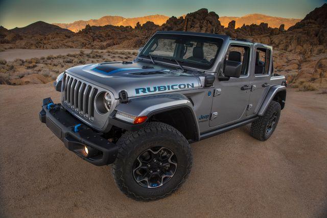 2021 jeep wrangler rubicon 4xe