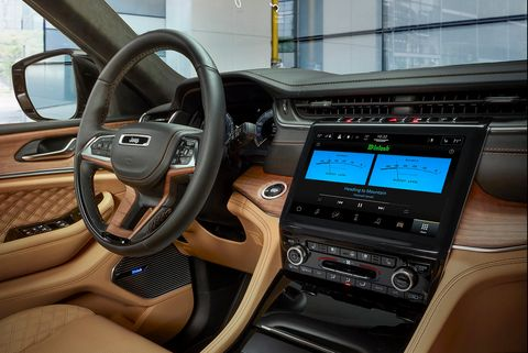 grand cherokee l infotainment unit