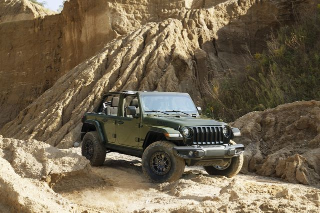 2022 jeep® wrangler willys is now available with the xtreme recon package with 35 inch tires straight from the factory, delivering best in class approach angle, departure angle, ground clearance and water fording capability