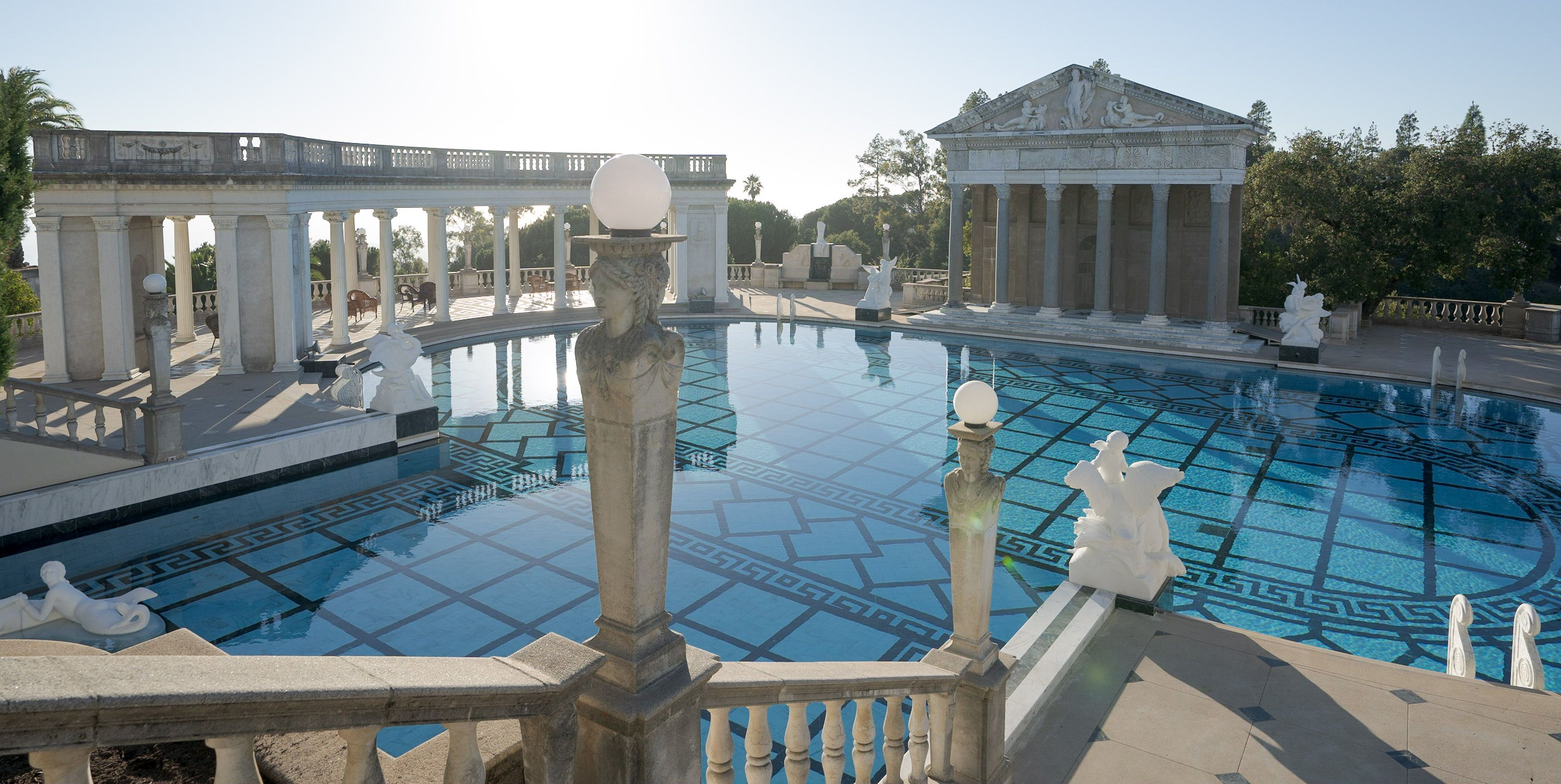 Hearst Castle's Iconic Neptune Pool Reopens After a 4-Year Renovation