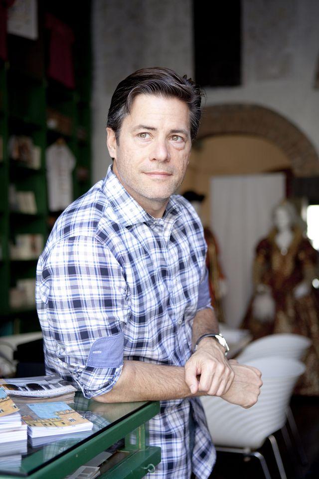jr moehringer, american writer and journalist, mantova, italy, september 2013 photo by leonardo cendamogetty images