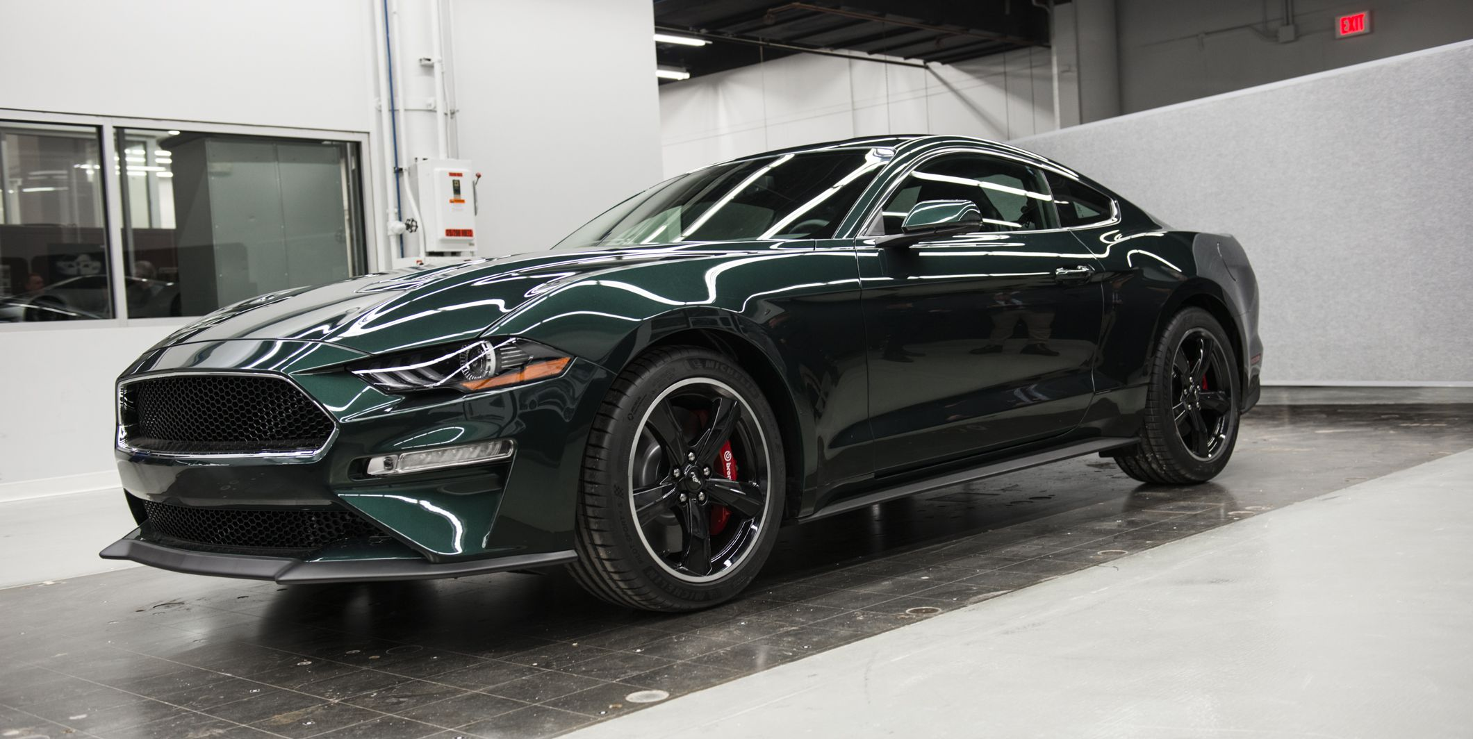 2019 Ford Mustang Bullitt Revealed New Mustang Bullitt