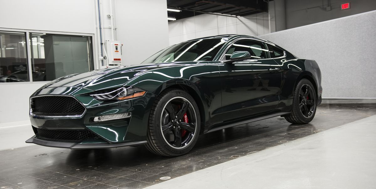 2019 ford mustang bullitt revealed new mustang bullitt specs price and photos. Black Bedroom Furniture Sets. Home Design Ideas