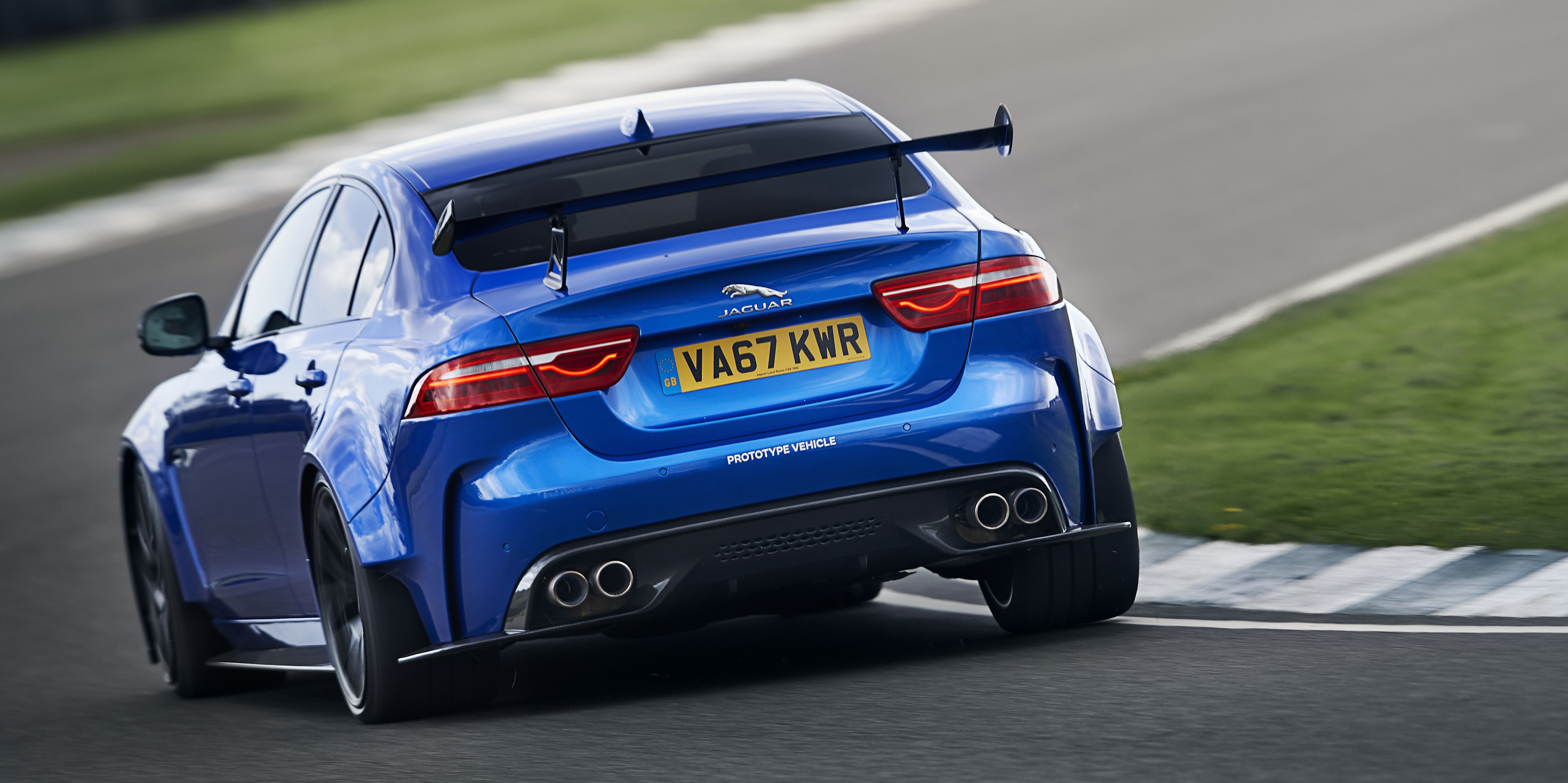 The Jaguar XE SV Project 8 Is the Angriest-Sounding Sedan You Can Buy
