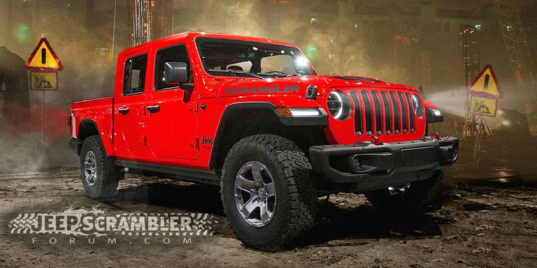 2019 Jeep Wrangler Pickup Renderings - Best Look at New ...