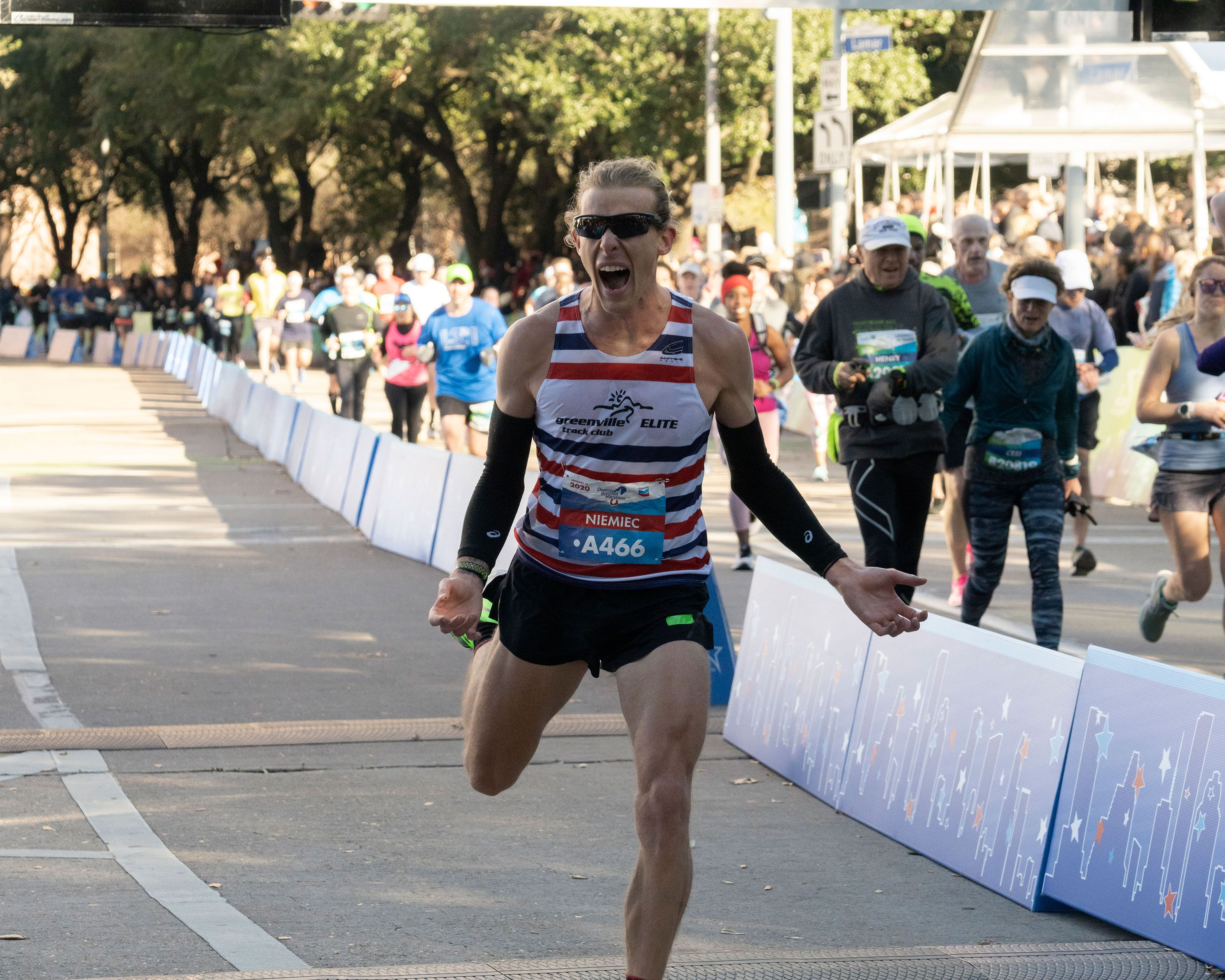 Highlights From the 2020 Houston Marathon and Half Marathon