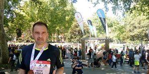 Juan Carlos Cristóbal: Mi primer maratón