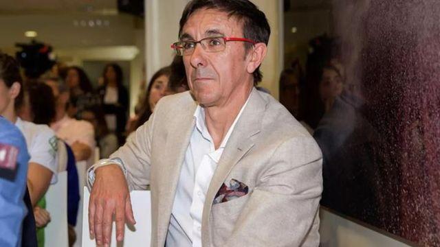 josé hidalgo, presidente de la federación española de triatlón