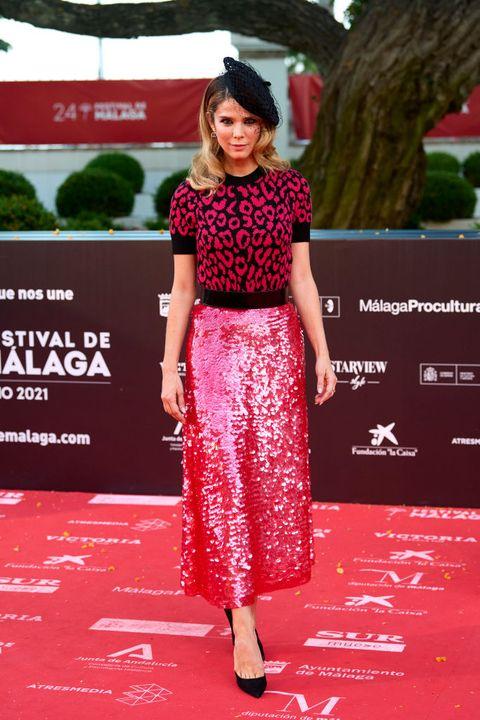 juana acosta en el festival de cine de malaga
