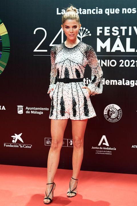 juana acosta en la presentación del festival de málaga 2021