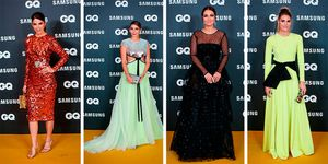 Juana Acosta, Rosanna Zanetti, Amaia Salamanca en los Premios GQ