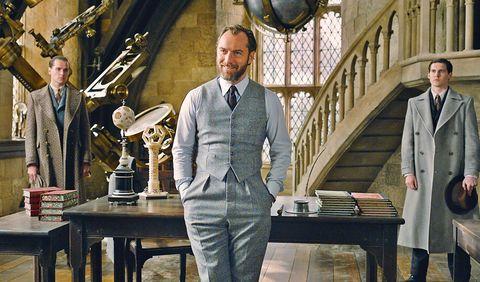 Jude Law dumbledore animales fantasticos