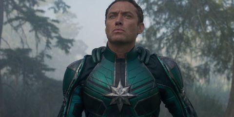 Jude Law Capitana Marvel