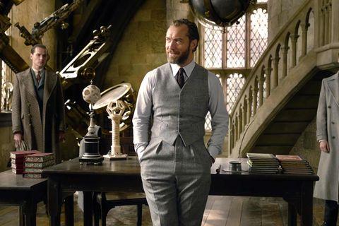 Jude Law Dumbledore Animales Fantasticos 2