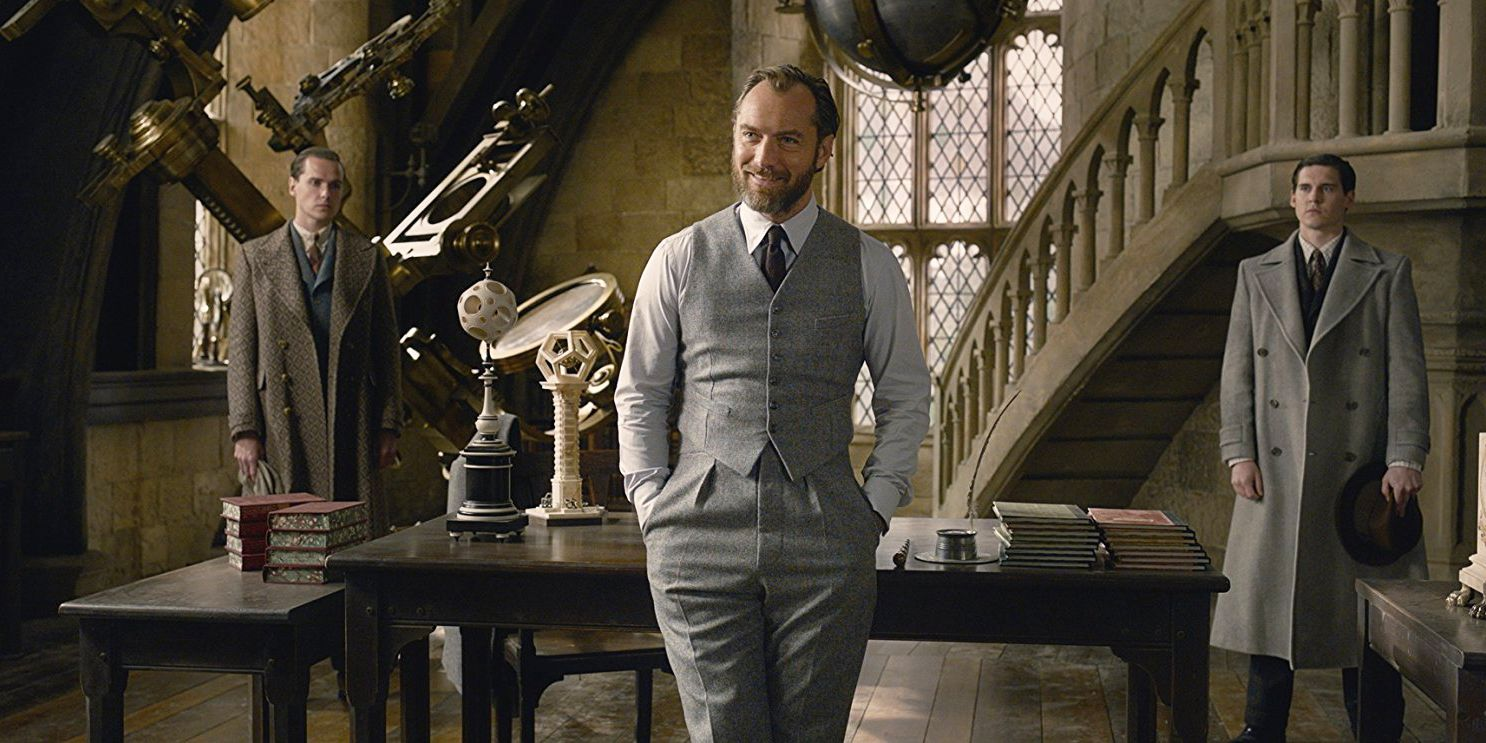 Jude Law Just Addressed Dumbledore's Sexuality In 'Fantastic Beasts' For The First Time