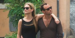 Phillipa Coan en Jude Law