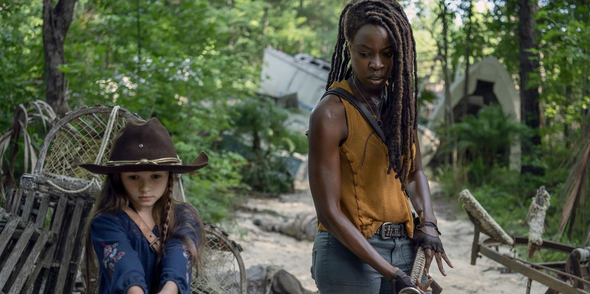 The Walking Dead boss on why Judith lied about Michonne's exit