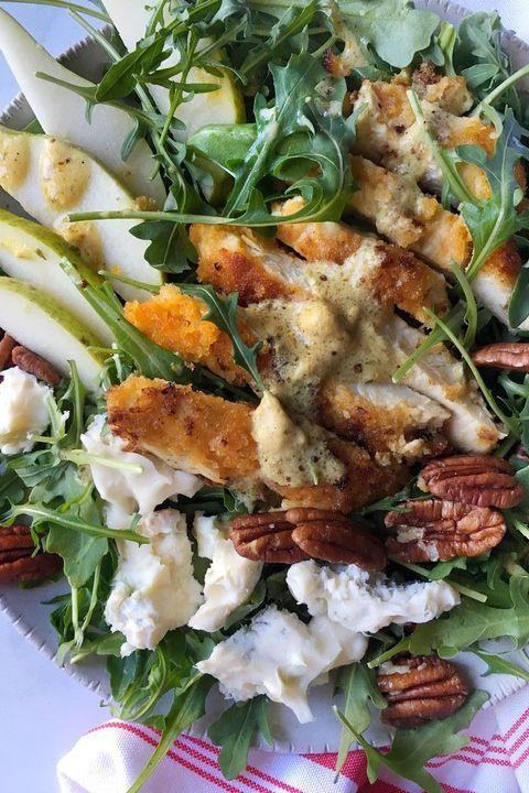 Dish, Food, Cuisine, Salad, Ingredient, Vegan nutrition, Vegetable, Leaf vegetable, Meat, Produce,