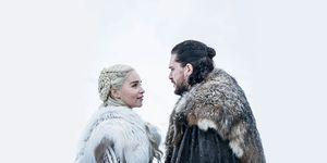 Daenerys y Jon en la temporada 8 de Juego de tronos