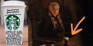 juego de tronos cafe starbucks