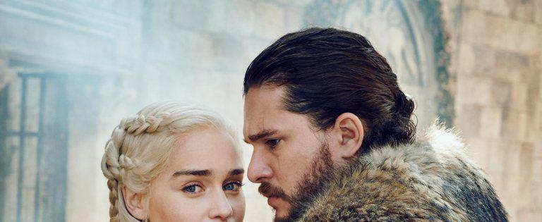 juego de tronos final jon snow y daenerys