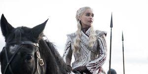 Daenerys (Emilia Clarke) en la última temporada de 'Juego de tronos'