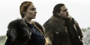 Juego de Tronos Sansa Jon
