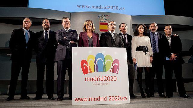 presentación de la candidatura olímpica madrid 2020