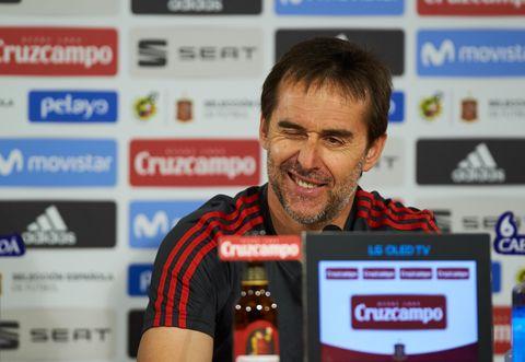 julen lopetegui destitución entranador selección española