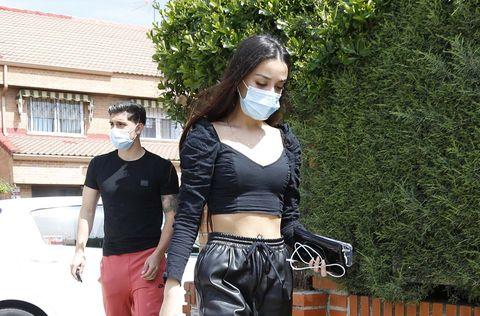 julia janeiro y su novio brayan mejia