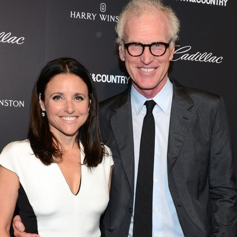 Who Is Julia Louis Dreyfus S Husband Brad Hall Meet The