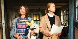 Annette Frier y Julia Richter en la película 'Familia por sorpresa', de la saga 'Ella Schön.