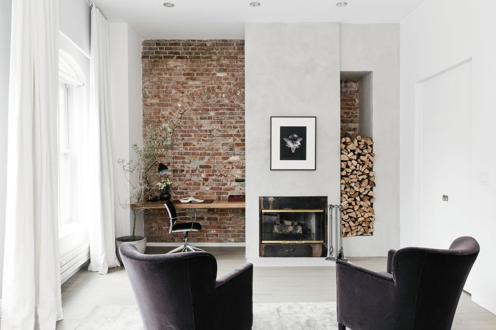 25 modern fireplace design ideas best contemporary fireplaces rh elledecor com