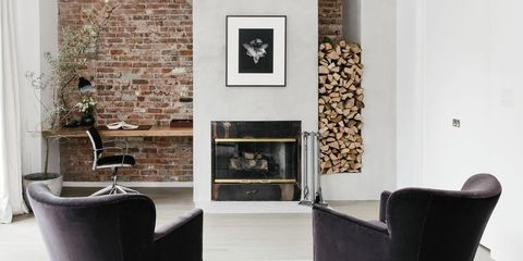 25 Modern Fireplace Design Ideas Best Contemporary Fireplaces