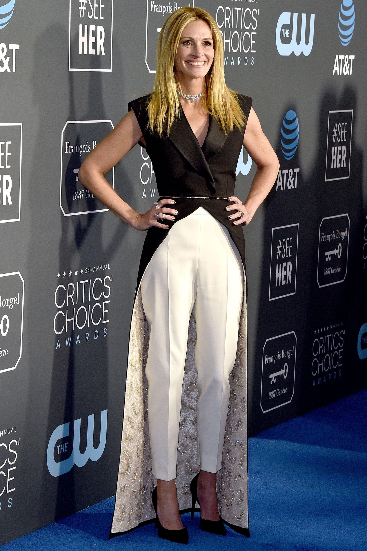 Julia Roberts at the Critics Choice Awards