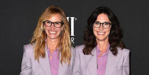 Julia Roberts and Elizabeth Stewart at InStyle Awards