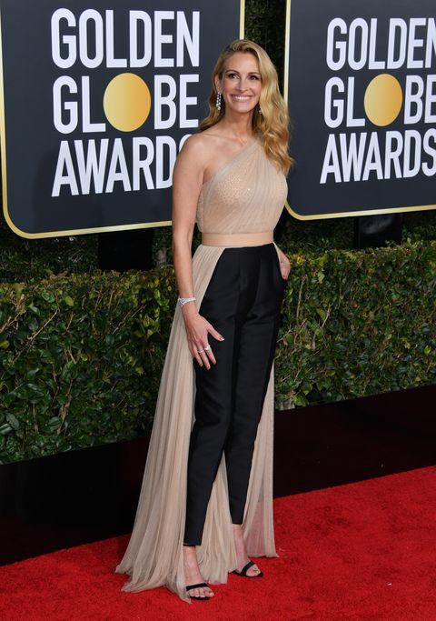 Julia Roberts en los Golden Globe Awards