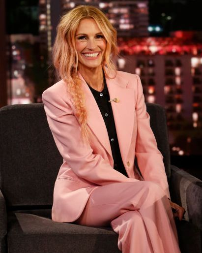 julia roberts ombre pink hair