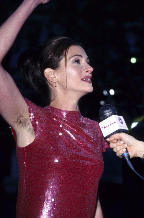 Julia Roberts sin depilar