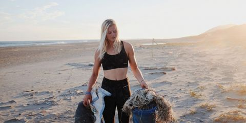 Julia van Rooij ging een maand lang op reis zonder plastic te verbruiken
