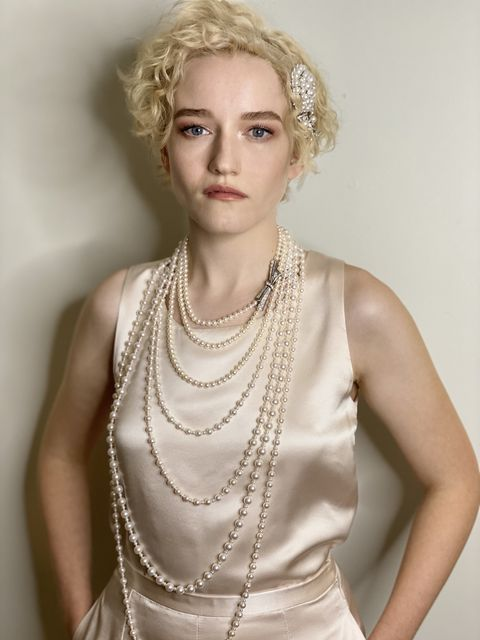 julia garner in chanel fine jewelry at the emmys 2020