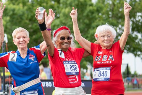 Julia 'Hurricane' Hawkins, 103, Just Broke a Running Record at the National Senior Games