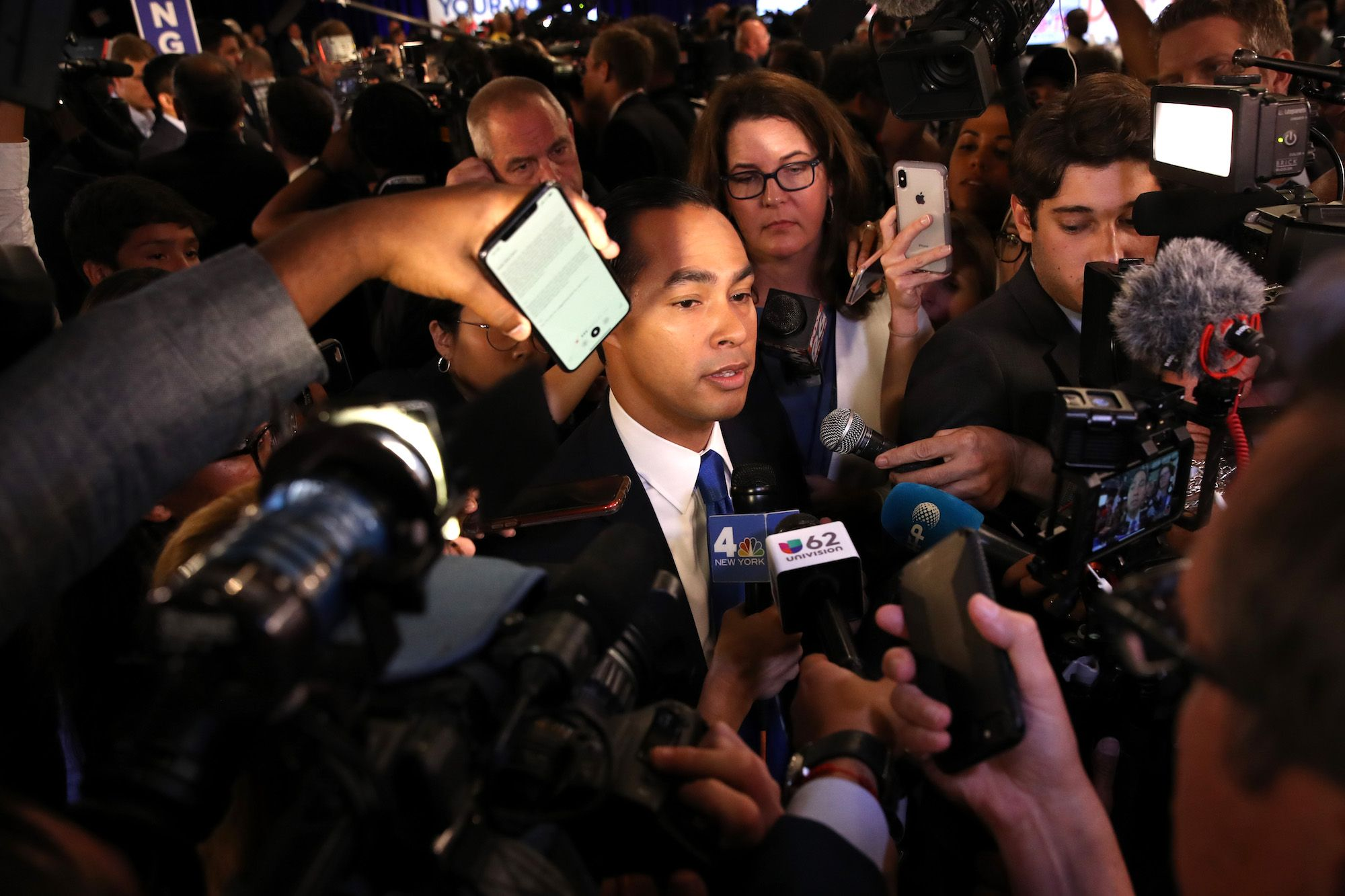 Julian Castro Played the Heel in South Carolina This Weekend, But He's No Villain